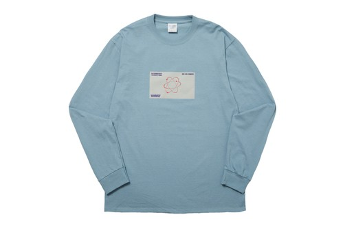 WHIMSY / SIX STAR L/S TEE -SALTE BLUE-