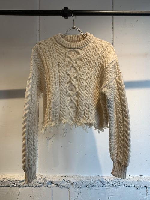 MIMAE   zakuzaku knit ①