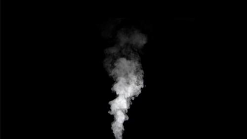 素材用映像(Royalty free Motion Materials):湯気 2 (Steam 2):HD Size, 1min 32sec 07frames