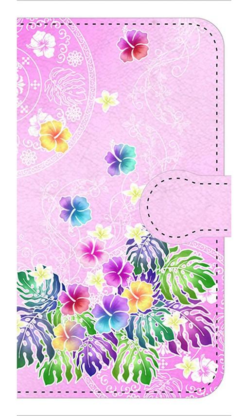 【鏡付き Sサイズ】Sweet Pink Paradise スィート・ピンク・パラダイス 手帳型スマホケース