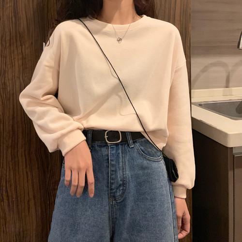 カジュアル ジェントル 柔らか カジュアル 韓国ファッション 上品  厚手  パーカー・トップス