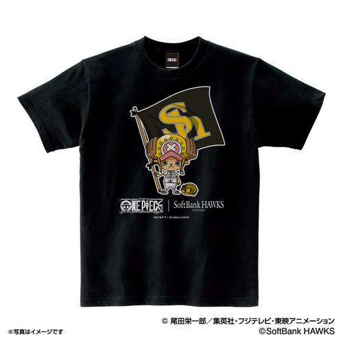 ワンピース×ホークス Tシャツ (子供用)