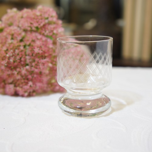 50's-60's Vintage Shot Glass from POLAND   [GV-24]