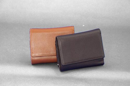 メンズ2ポイント 三つ折りコンパクト財布