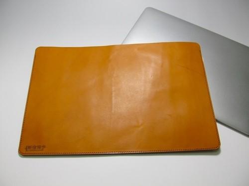 MacBookPro ケース 13インチ 本革ヌメ キャメル [MBP13Retina-CM]