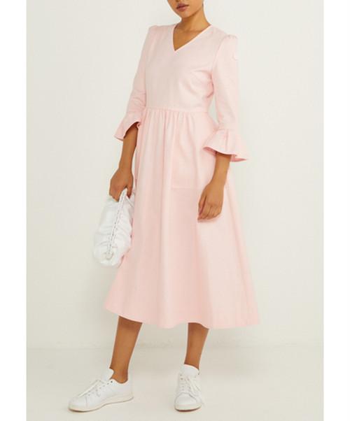 BORDERS AT BALCONY COLOR DRESS