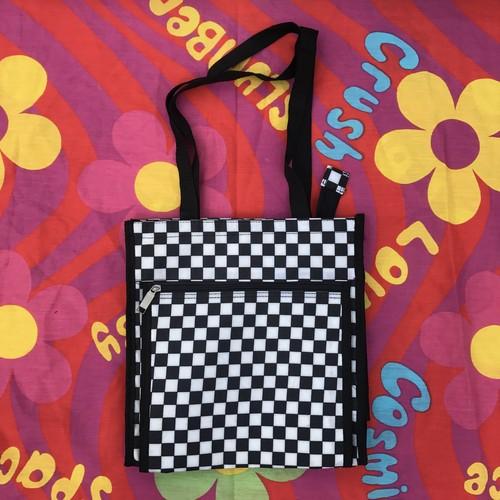 checker handbag