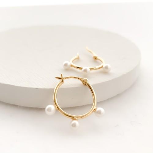 pearl hoop pierces 0529