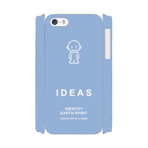 IDEAS/iPhone5/5s/SEケース 800-ブルー
