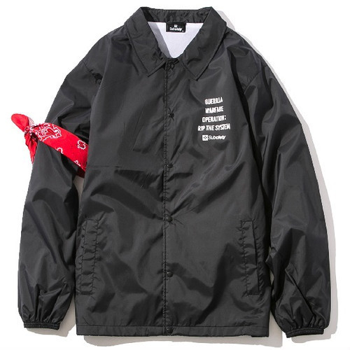 Subciety COACH JKT-SECTION- / サブサエティ コーチジャケット / 107-62300