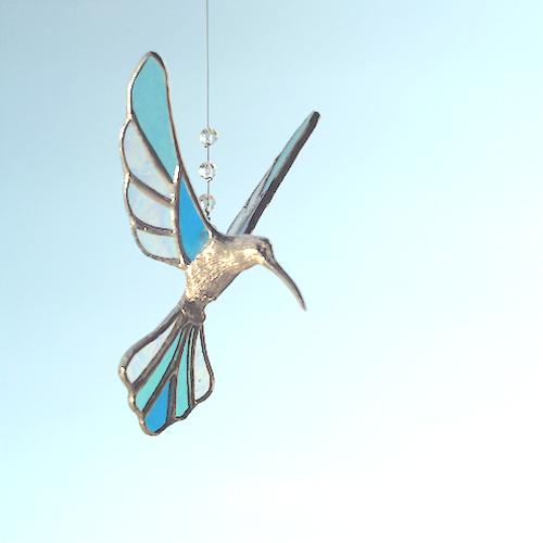 Hummingbird  ( M-iridescent blu × clr )