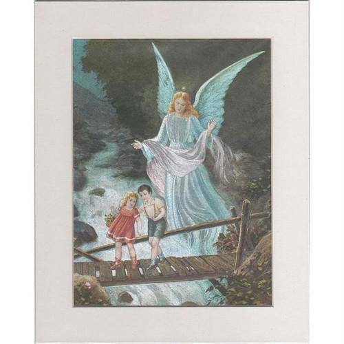 【アルミ彫刻画】守護天使に見守られて[a042]