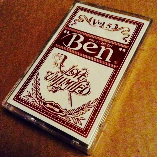 LOVE UNLIMITED / BEN THE ACE MIXTAPE VOL.5 [DEAD STOCK MIX TAPE + MP3]