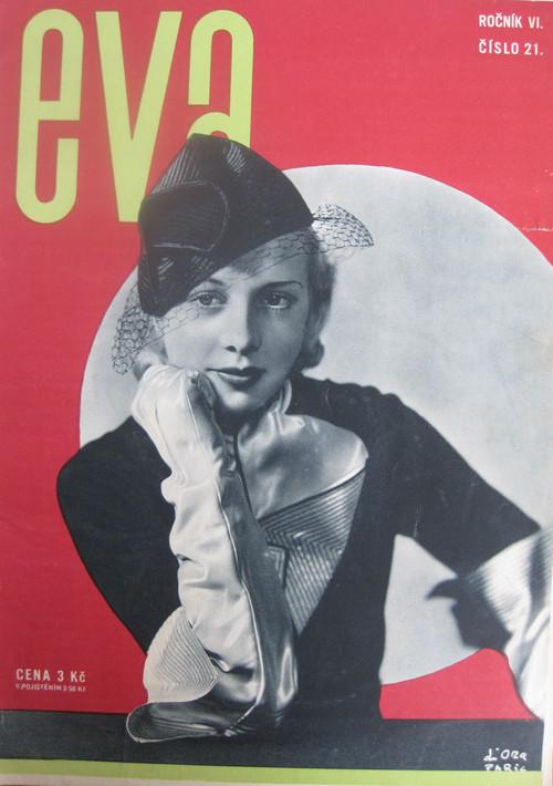 チェコのモード誌「eva」1934年10月1日号