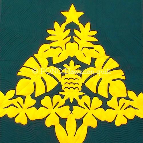 型紙★ハワイアンクリスマスツリー110x110cm
