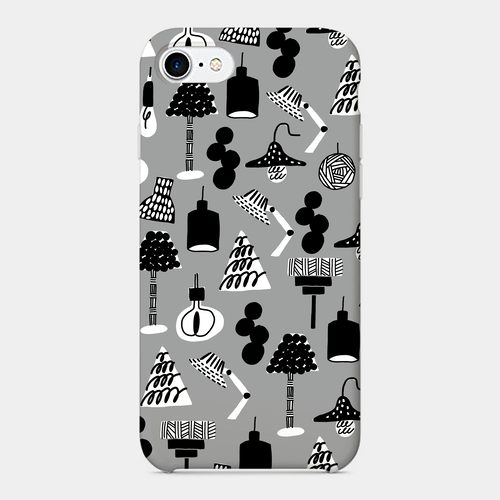 【illumination-mono】 phone case (iPhone / android)