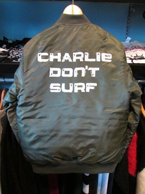 MAー1JKT CHARLIE DON'T SURF