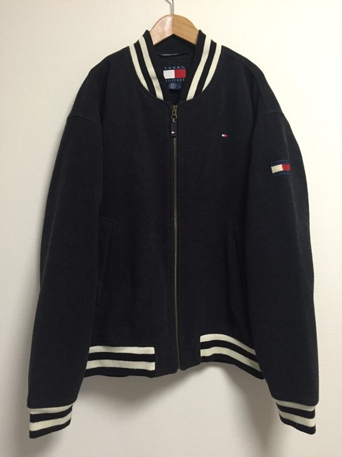 late90's〜early2000's TOMMY HILFIGER wool baseball jacket