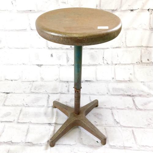 品番3632 インダストリアルチェア スツール 丸椅子 スチール製 ヴィンテージ