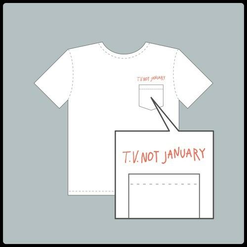 ポッケ付きTシャツ