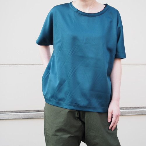 【ethical hippi】wide t-shirt(moss green) / 【エシカル ヒッピ】ワイド Tシャツ(モスグリーン)