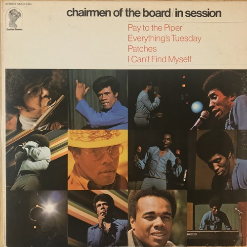 CHAIRMAN OF THE BOARD / in session (1970)