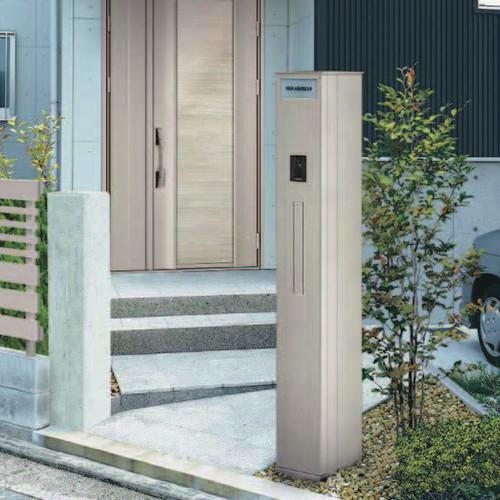 YKKap ルシアス機能門柱 A01型 電源ユニットなしタイプ