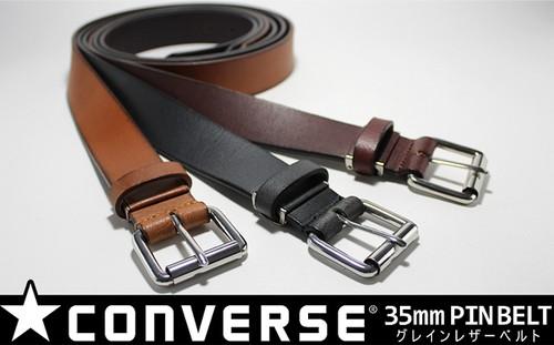 CONVERS(コンバース)35mm メンズ グレインレザーベルト 5CV4092
