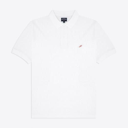 Mesh Polo(White)