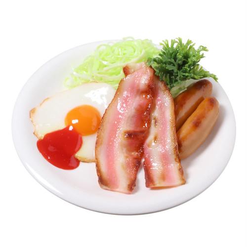 [7009]食品サンプル屋さんのミニグルメ(モーニングセット)【メール便・ラッピング不可】