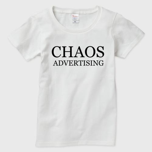 Chaos Advertising オリジナルTEE レディース