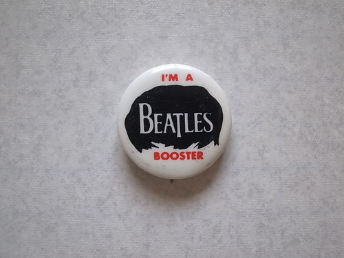 BADGE / I'M A BEATLES BOOSTER (1965)