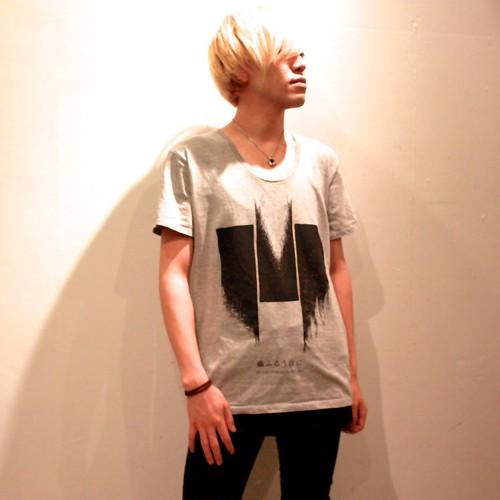 Tシャツ ~竹~ (グレー) -2016.2.6 サイン入り-