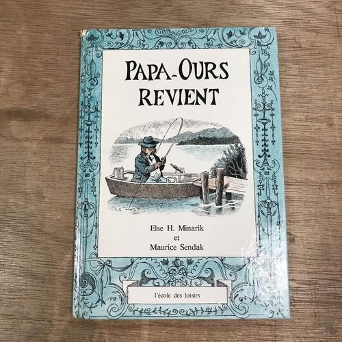 PAPA - OURS REVIENT /話:Else H. Minarik ,絵:MAURICE SENDAK