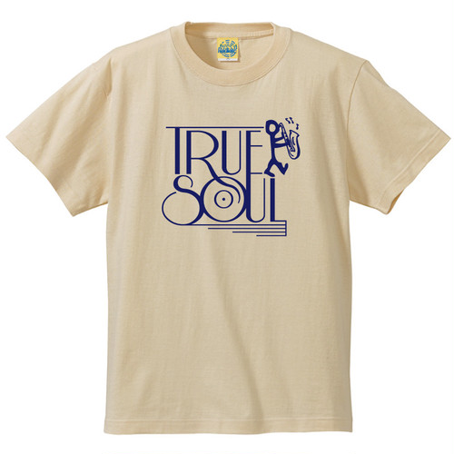 [TRUE SOUL] T-shirt / Natural