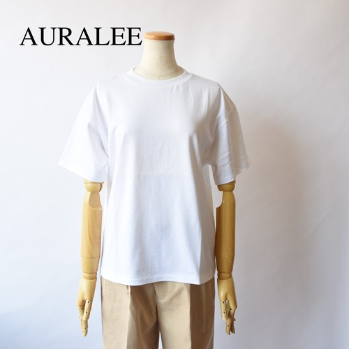 AURALEE/オーラリー ・LUSTER PLATING TEE