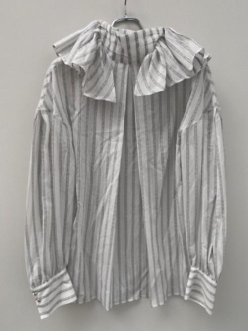 FUMIE=TANAKA side frill shirts