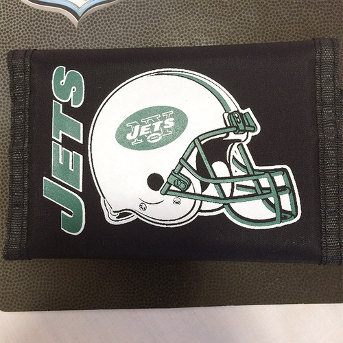 NFL 財布 ナイロンウォレット ニューヨーク New York Jets ジェッツ 正規品 2098