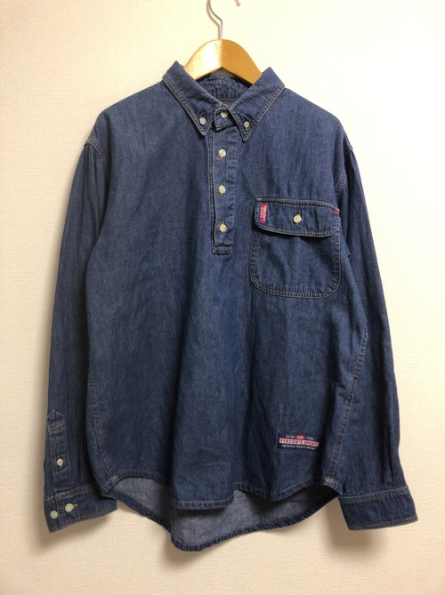 90's PERSON'S denim shirt