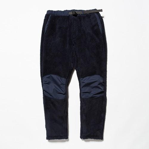 meanswhile Behavior Fleece Pants Navy