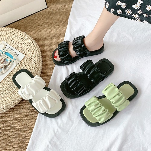 フラットサンダル ぺたんこ スリッパ コンフォートサンダル 韓国ファッション レディース サンダル キュート 痛くない かわいい 歩きやすい 618715024796