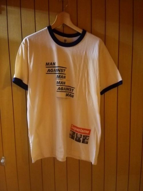 M.A.N.VS.M.A.N - 古着ボディリンガーTシャツ size:L ivyXnvy