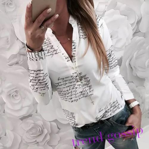 【送料無料】メッセージロゴホワイトシャツ/S〜XL/2020SS