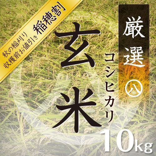 厳選コシヒカリ(玄米 10kg)2018年産