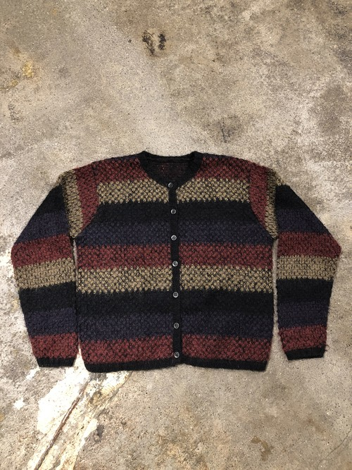 OLD Mohair Knit Cardigan