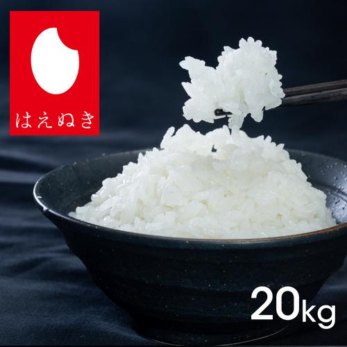 はえぬき20kg|精米