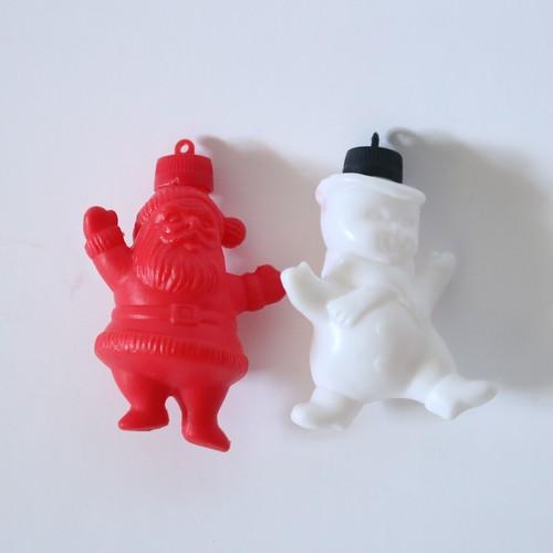 Santa Claus & Snowman・サンタクロース&スノーマン セット U.S.A