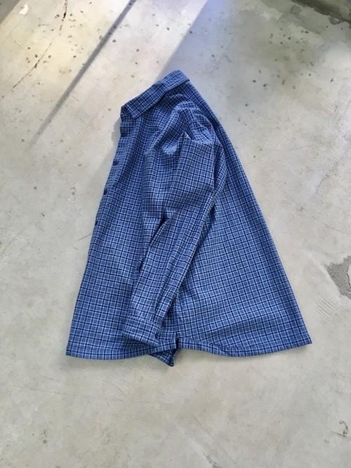 """DA'S / Clavel Shirt """"vintage french fabric"""" (ダズの古い生地を使ったクラヴェルシャツ)"""