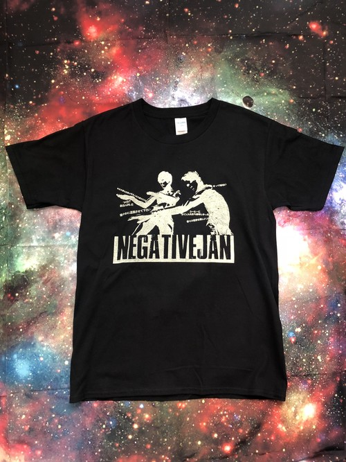 NEGATIVE T SHIRT BLACK