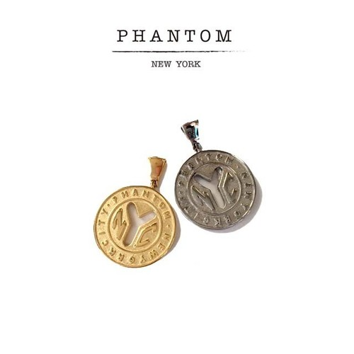 PHANTOM NYC /  NY Old Token Necklace